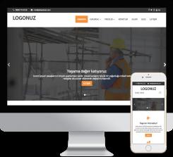 Mimarlik - İnşaat Web Paketi - 021