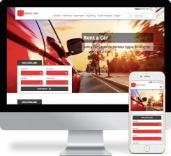 Rent A Car Web Paketi - 039
