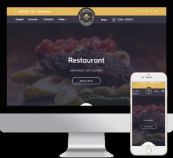 Restaurant - Cafe Web Paketi - 009