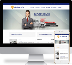 Rent A Car Web Paketi - 008